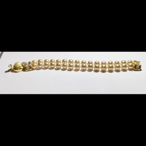 Kenneth J. Lane (KJL) faux pearl bracelet